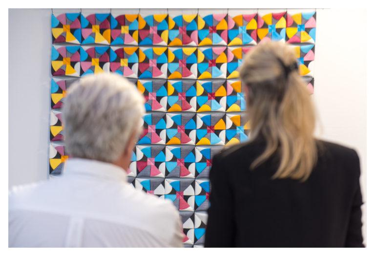 Exposition JEUX DE FORMES Crédit Agricole Provence Côte d'Azur © Élizabeth FOYÉ - Photo Nicolas Foyé