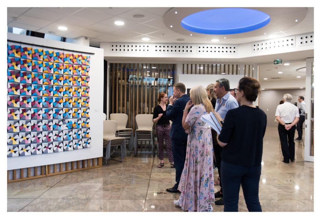 Exposition JEUX DE FORMES Crédit Agricole Provence Côte d'Azur © Élizabeth FOYÉ - Photo Nicolas Foyé - 2019